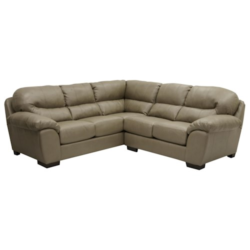 Jackson Furniture Lawson Sectional Sofa In Corner Configuration Zak 39 S Fine Furniture Sofa