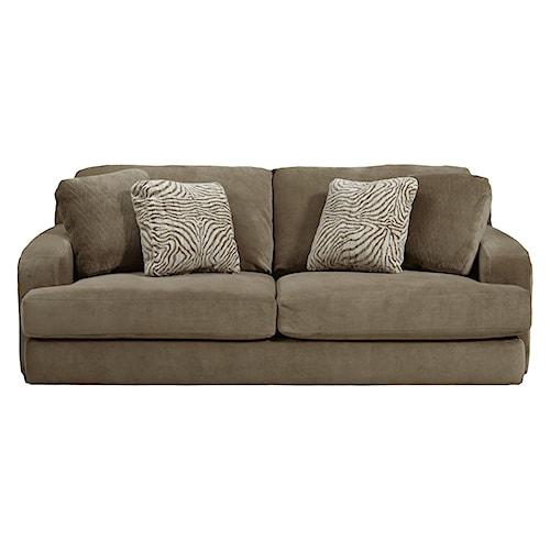Jackson furniture palisades casual modern sofa l fish sofa for L fish furniture