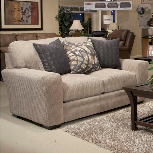 Jackson Furniture Prescott Casual Contemporary Loveseat Efo Furniture Outlet Love Seat