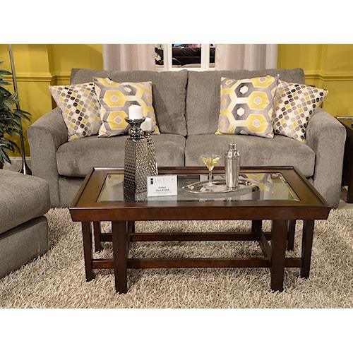 Jackson Furniture Sutton Sleeper Sofa With Casual Style Story Lee Furniture Sofa Sleeper