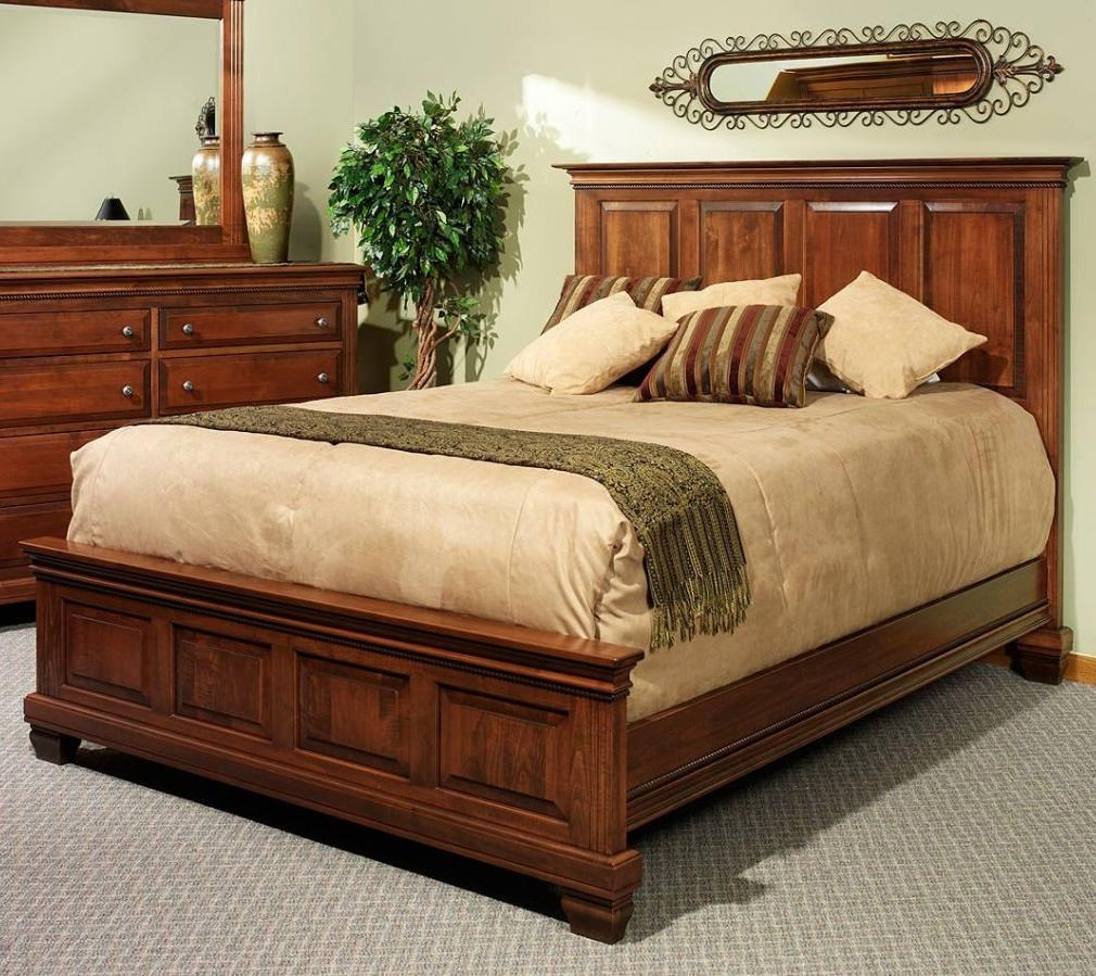 Canal Dover Furniture Northbrook King Panel Bed w Roped