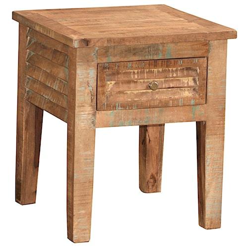 Morris Home Furnishings Bangladesh End Table Morris Home Furnishings End Tables