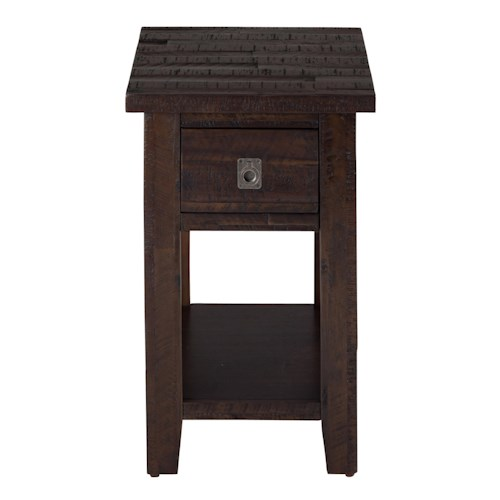 Jofran Kona Grove Chairside Table Pilgrim Furniture City End Tables