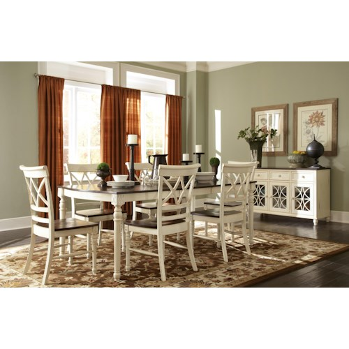 John Thomas Camden Casual Dining Room Group Story Lee Furniture Casual Dining Room Group