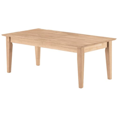 John Thomas Select Home Accents Shaker Coffee Table Wayside Furniture Cocktail Or Coffee Table