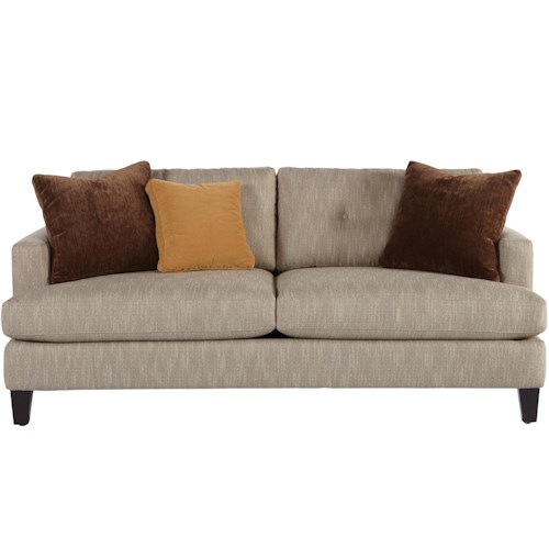 Jonathan Louis Mia Contemporary Sofa With Track Arms Pilgrim Furniture City Sofa