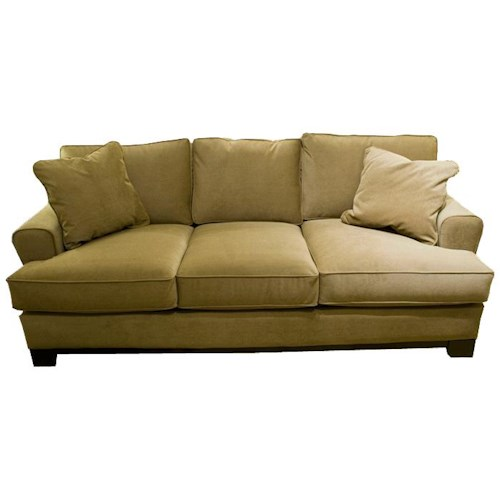 Jonathan Louis Choices Pisces Stationary Sofa With Track Arms Olinde 39 S Furniture Sofa