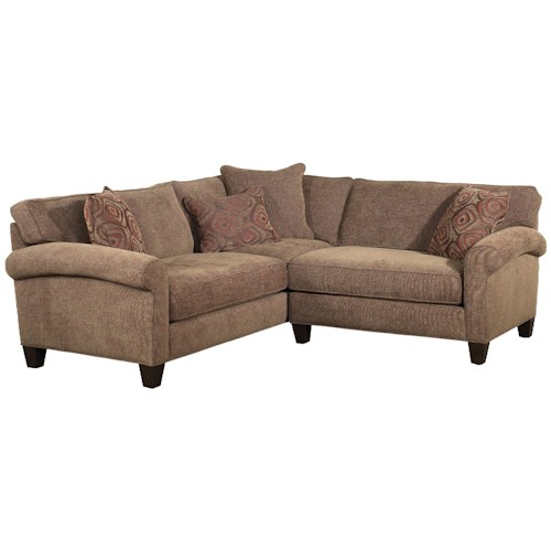 Jonathan Louis Knobhill Condo Stationary Sofa Sectional Bennett 39 S Home Furnishings Sofa