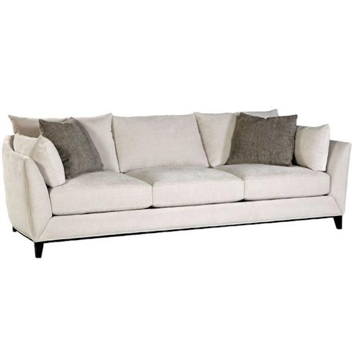Jonathan Louis Metro Estate Contemporary Estate Sofa With Tapered Feet Miskelly Furniture