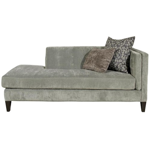 Strathmore Contempary One Arm Sofa With Tufting