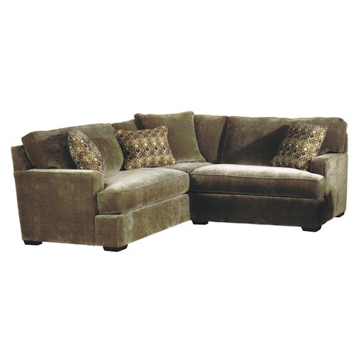 Jonathan Louis Tyler Contemporary 2 Piece Sectional With Sleeper Bennett 39 S Home Furnishings