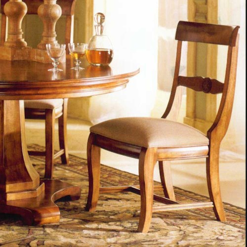 Kincaid Furniture Tuscano Tuscano Side Chair Belfort Furniture Dining Side Chairs