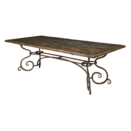 Kincaid Furniture Artisan 39 S Shoppe Dining Black Forest Traditional 94 Q
