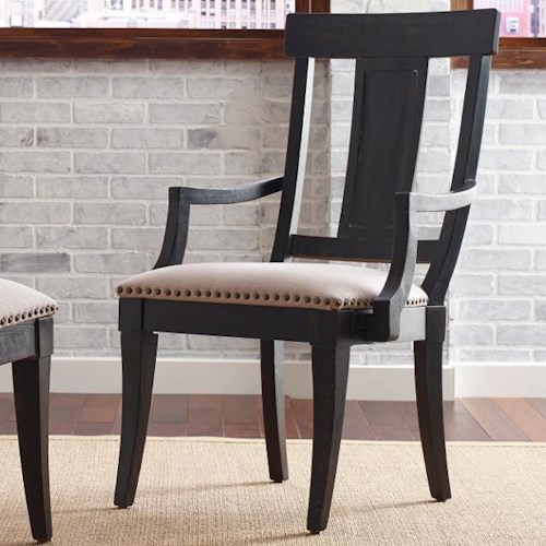 Kincaid Furniture Stone Ridge Transitional Arm Chair With