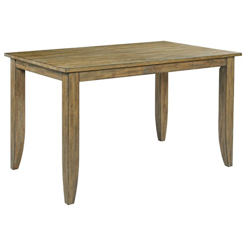 Counter Height Nook Table : ... Pub Tables Kincaid Furniture The Nook Counter Height Leg Table