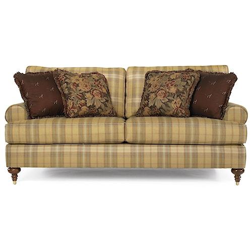 Kincaid Furniture Tuscany Traditional Stationary Sofa Story Lee Furniture Sofa Leoma