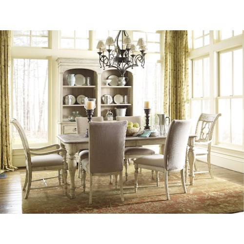 Kincaid Furniture Weatherford Dining Room Group 2 Johnny Janosik Formal Dining Room Groups