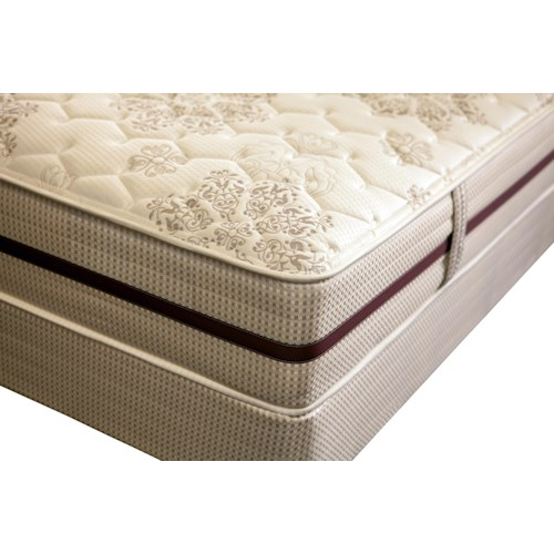 King Koil Vela Queen Extra Firm Mattress And Foundation Miller Brothers Furniture Matt