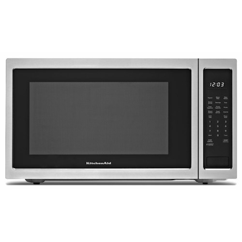 Countertop Microwave 12 Inch Depth : ... Microwaves - Countertop KitchenAid Microwaves 2.2 Cu. Ft. Countertop