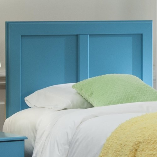 Kith furniture 173 turquoise full queen panel headboard for Turquoise bed frame