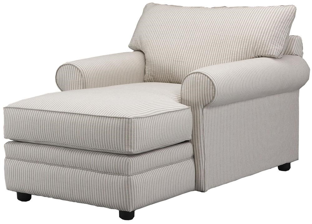 Klaussner fy Casual Chaise Lounge Dunk & Bright Furniture Chaise