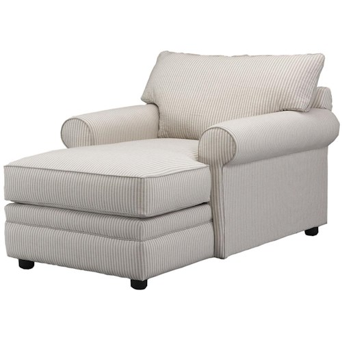 Klaussner Comfy Casual Chaise Lounge Dream Home