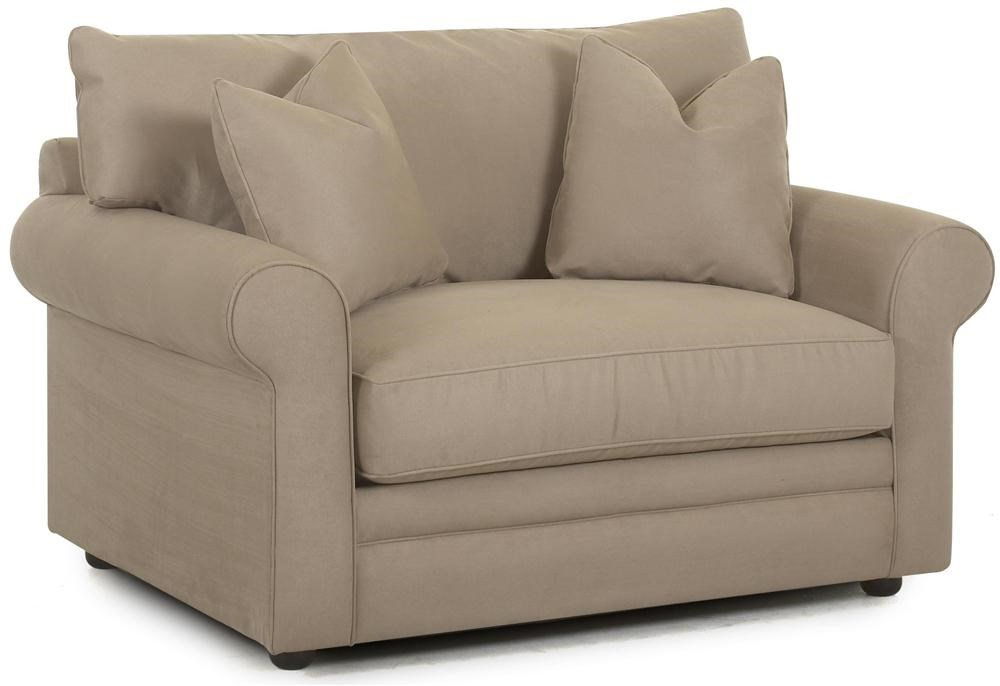 Klaussner fy Royale Oversized Chair Sleeper Suburban
