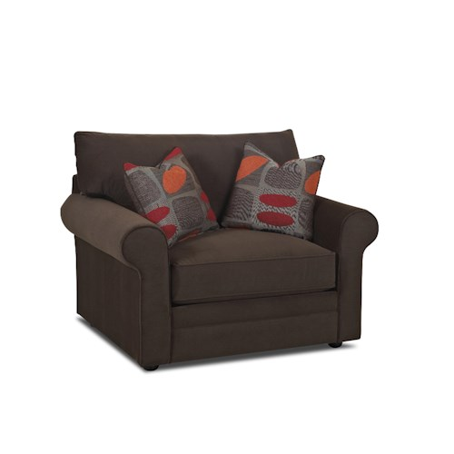 Klaussner Comfy Casual Big Chair Dunk Bright Furniture