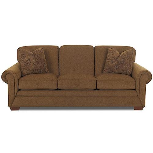 Klaussner Fusion 3 Cushion Sofa Dunk Bright Furniture