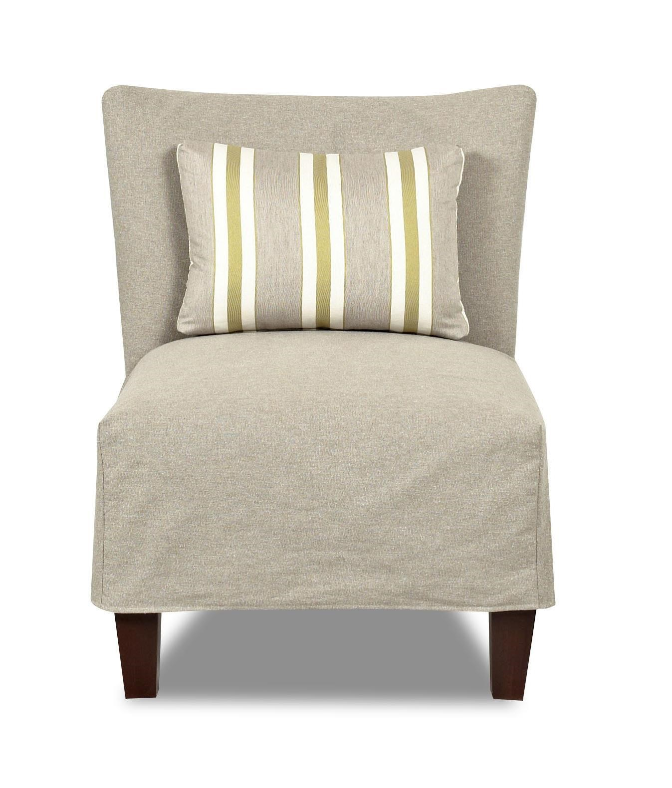Klaussner Chairs And Accents Armless Accent Chair With