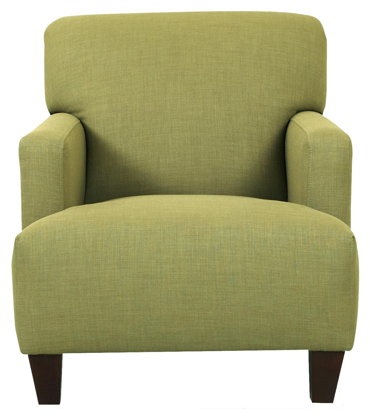 Klaussner Chairs and Accents Tanner Modern Track Arm Chair