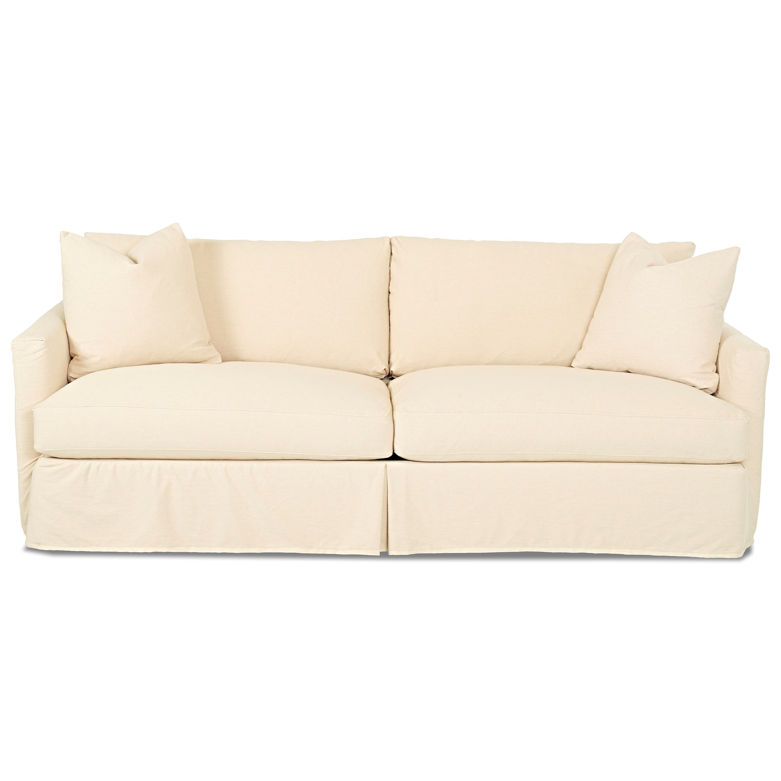 Klaussner Leisure Extra Sofa with Slipcover