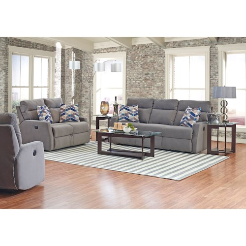 Klaussner Monticello Reclining Living Room Group Wayside Furniture Reclin