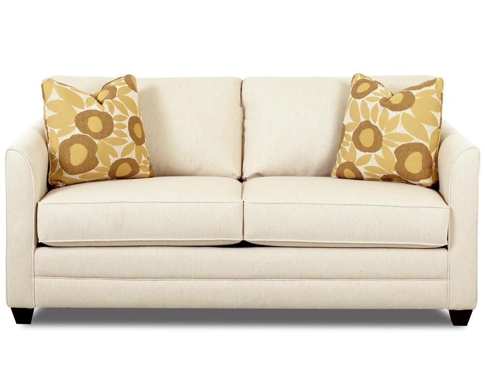 Klaussner Tilly Small Sleeper Sofa With Full Size Mattress
