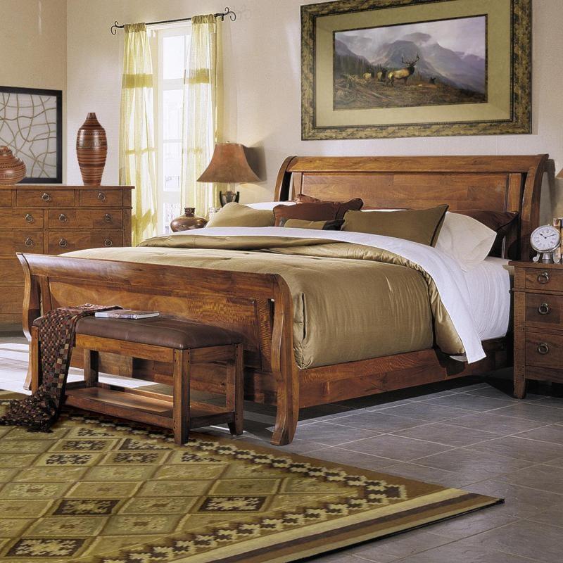 tuscon california king sleigh bed morris home