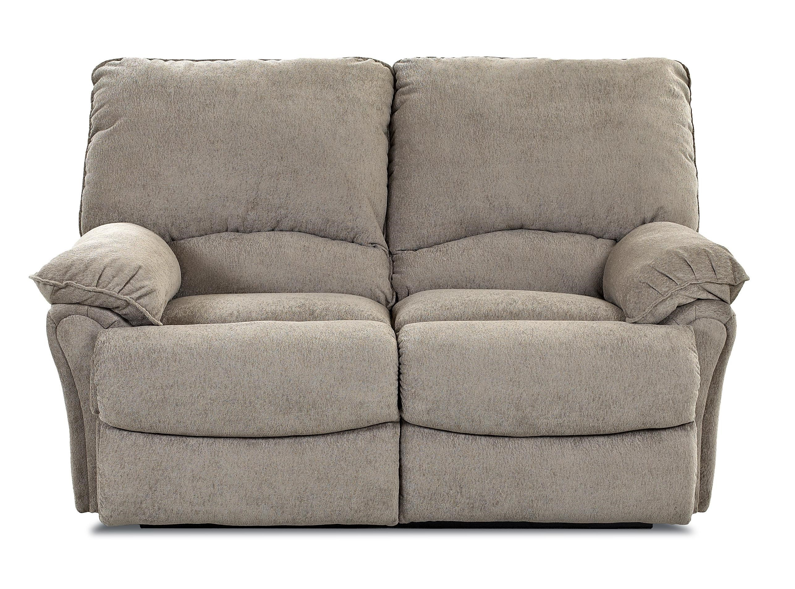 Klaussner Weatherstone Casual Power Reclining Loveseat