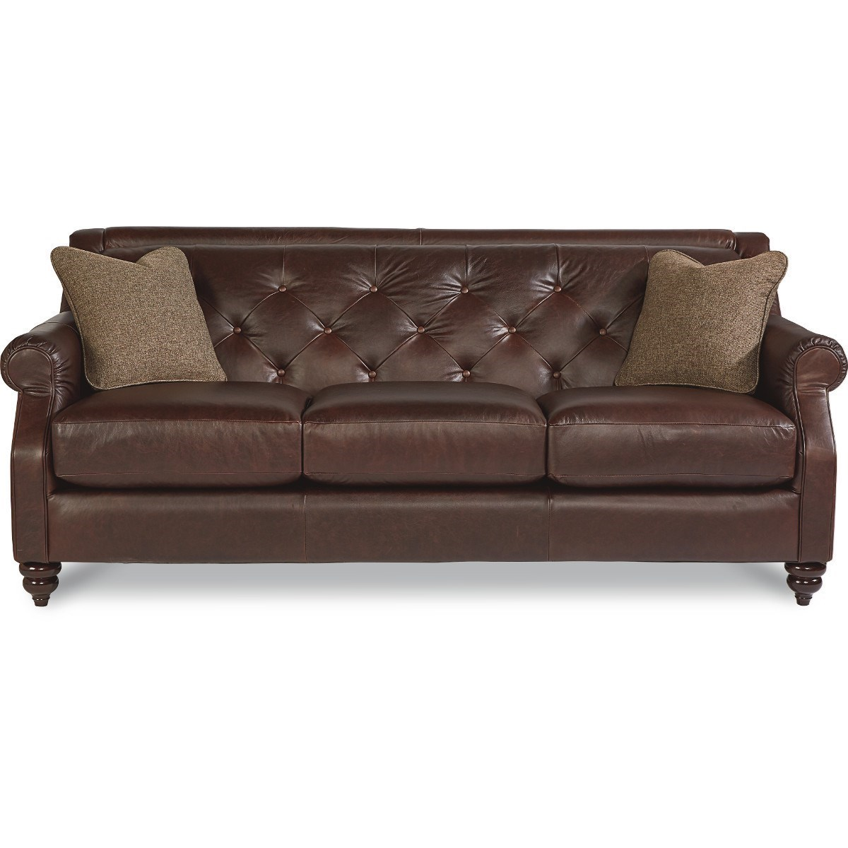 La-Z-Boy Aberdeen Traditional Sofa with Tufted Seatback - Morris Home - Sofa