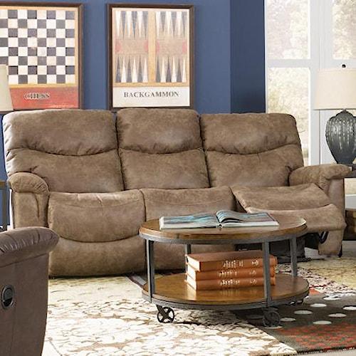 La Z Boy James Casual La Z Time Full Reclining Sofa