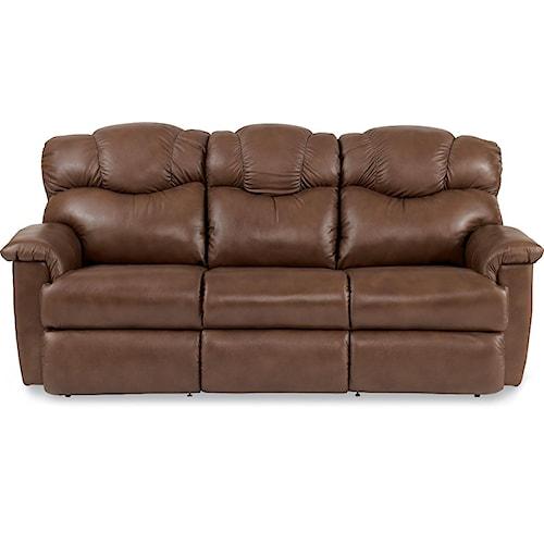 La z boy lancer power la z time full reclining sofa for Furniture 0 down