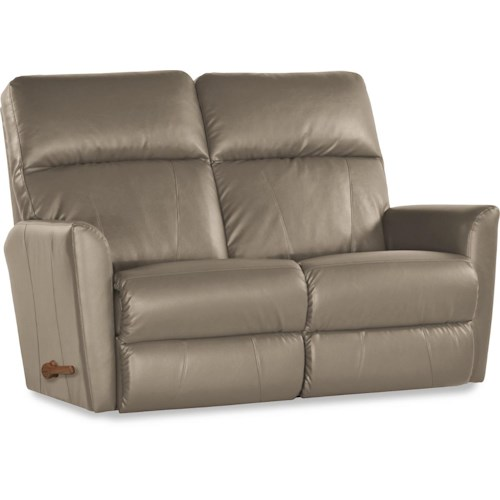 La Z Boy Odon Contemporary Wall Saver Reclining Loveseat