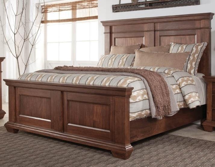 windsor king panel bed morris home furnishings