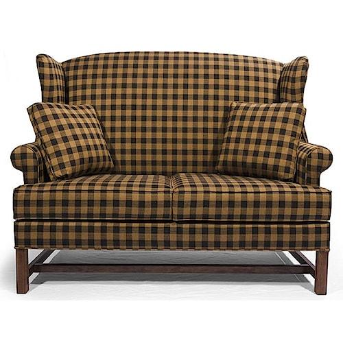 Lancer Homespun Settee H L Stephens Love Seats Arnot Mall Horseheads Elmira Ithaca Ny