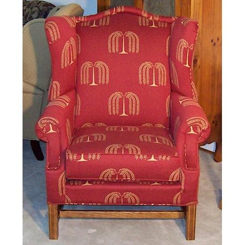 Lancer Homespun High Back Chair H L Stephens Wing Chairs Arnot Mall Horseheads Elmira