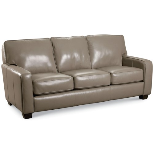 Lane ethan contemporary queen sleeper sofa wilson 39 s for Furniture in bellingham wa