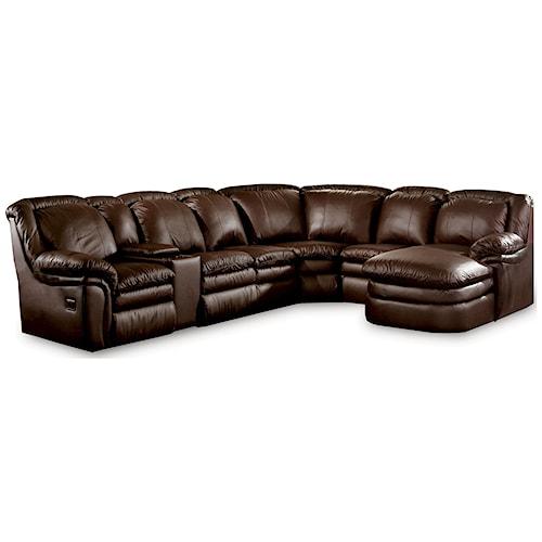 Lane Stallion Lane Sofa Group With Storage Ivan Smith Furniture Reclining Sectional Sofa