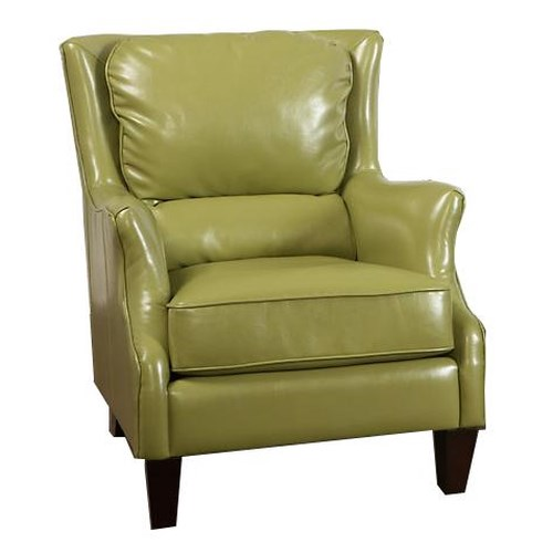 Largo Accent Chairs Accent Chair With Flair Tapered Arms Ivan Smith Furniture Wing Chairs