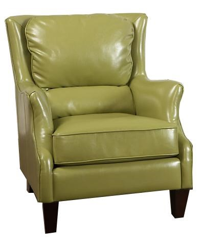 Largo Accent Chairs Accent Chair with Flair Tapered Arms - Ivan Smith Furniture - Wing Chairs