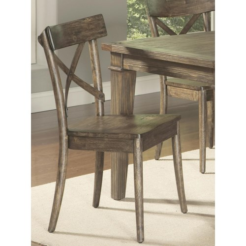 Largo coronado bent wood side chair standard furniture for S bent dining room furniture
