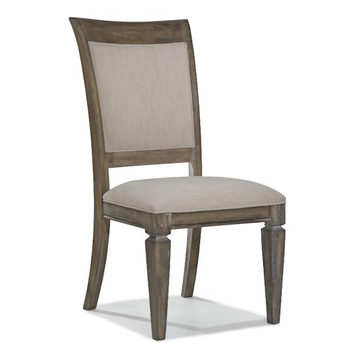 legacy classic brownstone village upholstered dining side chair with