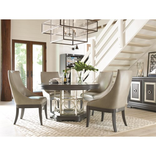 dining 5 piece set legacy classic tower suite 5 piece dining table set